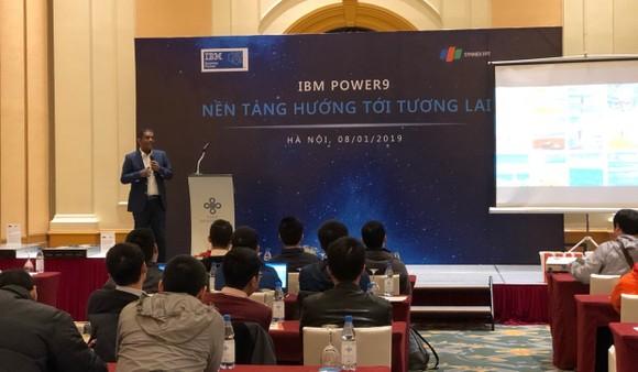 """IBM POWER 9, """"trái tim"""" dữ liệu cho siêu máy tính mạnh nhất trên thế giới ảnh 1"""