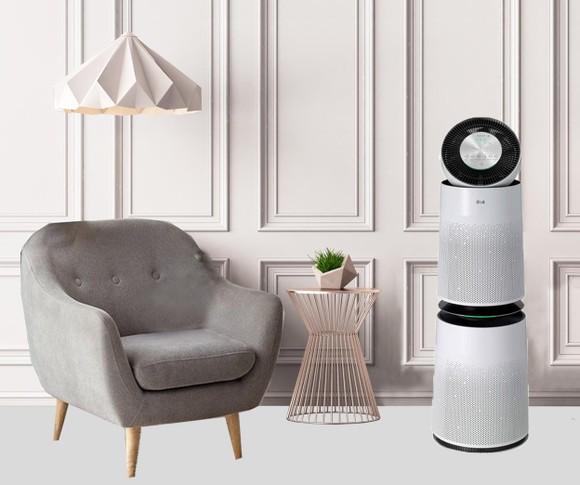 Dòng sản phẩm điều hòa dân dụng LG có thiết kế hiện đại, sang trọng