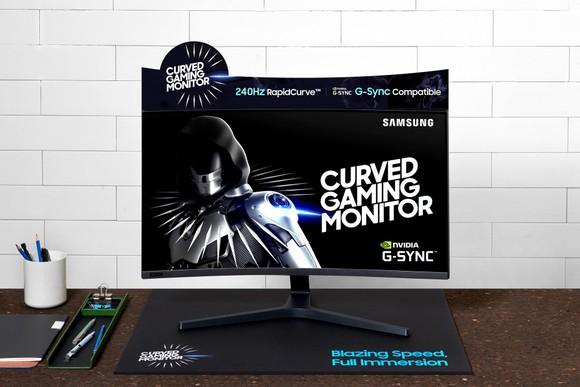 Samsung ra mắt dòng màn hình cong chơi game với màn hình 27inch, 240Hz tương thích G-SYNC ảnh 1