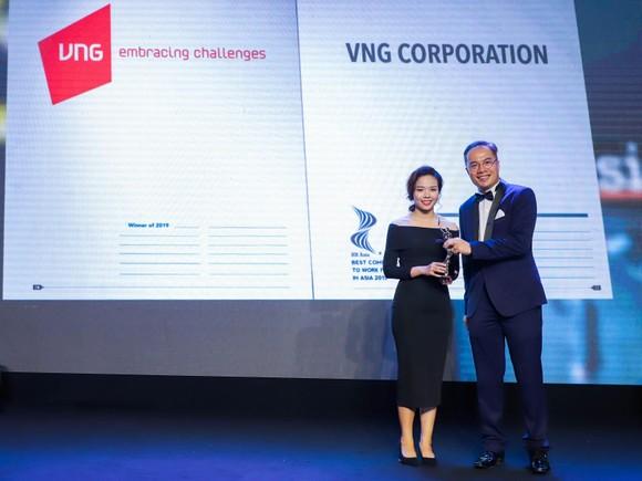 """VNG vinh dự đón nhận giải thưởng """"Nơi làm việc tốt nhất châu Á"""" ảnh 2"""
