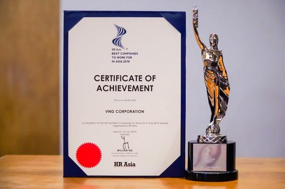 """VNG vinh dự đón nhận giải thưởng """"Nơi làm việc tốt nhất châu Á"""" ảnh 1"""