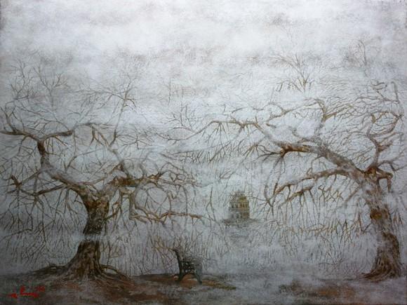 Ngỡ ngàng với miền cổ tích của họa sĩ Nguyễn Quốc Huy ảnh 1