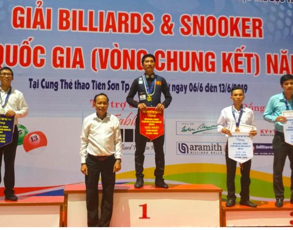 Ngô Đình Nại vô địch và phá kỷ lục nội dung 1 băng Giải Billiards toàn quốc ảnh 1