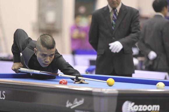 Cơ thủ Trung Hậu vào vòng knock-out World Cup Billiards săn giải thưởng 420 triệu đồng ảnh 1