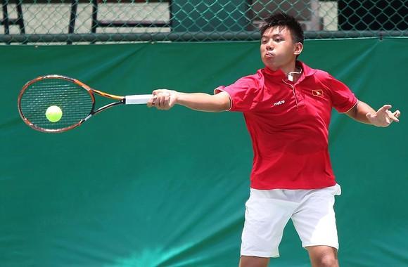 Tay vợt Lý Hoàng Nam đang cố gắng lọt vào tốp 300 thế giới.