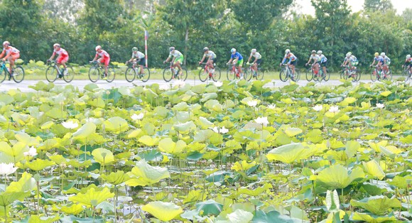 Giải xe đạp ĐBSCL: Tay đua Quàng Văn Cường xuất sắc giành cú đúp ảnh 2