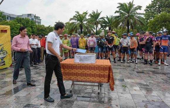 Giải xe đạp quốc tế VTV Cúp: Chặng 5 bị huỷ vì lý do thời tiết ảnh 1