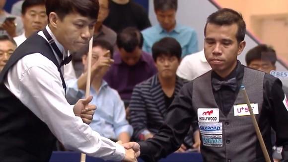 Trần Quyết Chiến có chiến thắng ngoạn mục lọt vào tứ kết giải Billiards LG Hàn Quốc ảnh 2
