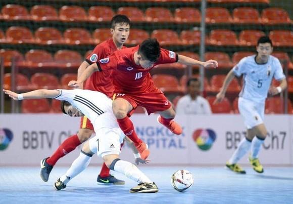 Các cầu thủ Việt Nam sẽ gặp lại Nhật Bản ở bảng C. Ảnh Đoàn Nhật