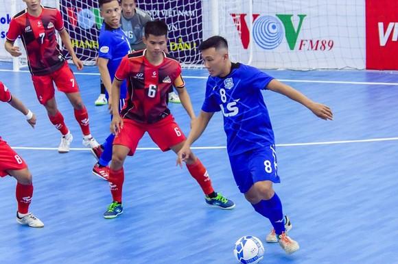 Thắng Cao Bằng 5-2, Thái Sơn Nam tiếp tục đe dọa ngôi đầu bảng của Sahako. Ảnh: Anh Trần