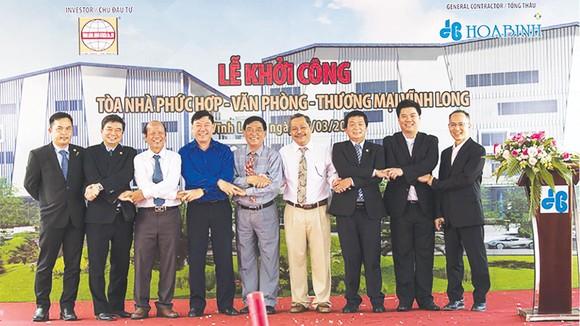 Công ty CP Tập đoàn Xây dựng Hòa Bình khởi công  dự án đầu tiên tại tỉnh Vĩnh Long ảnh 1