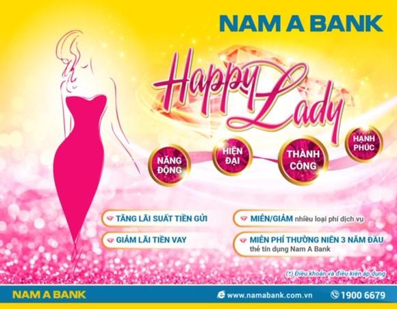 Giao dịch tại Nam A Bank, hưởng ưu đãi dành riêng cho phụ nữ ảnh 1