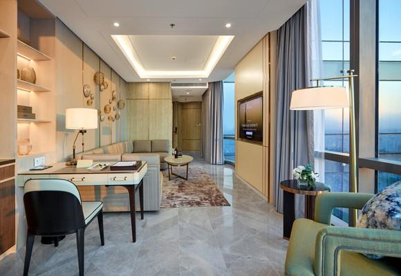 Có gì bên trong khách sạn siêu sang cao nhất Đông Nam Á? ảnh 2