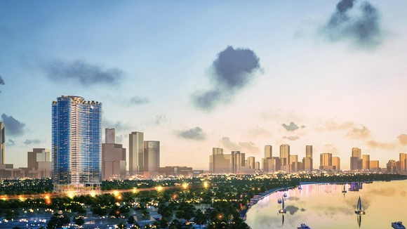 Trung tâm mới của TPHCM 'khát' căn hộ siêu cao cấp ảnh 1