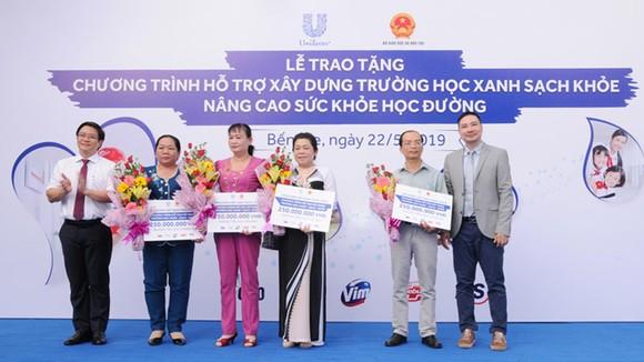 Unilever Việt Nam hỗ trợ xây dựng 30 điểm trường học Xanh - Sạch - Khỏe