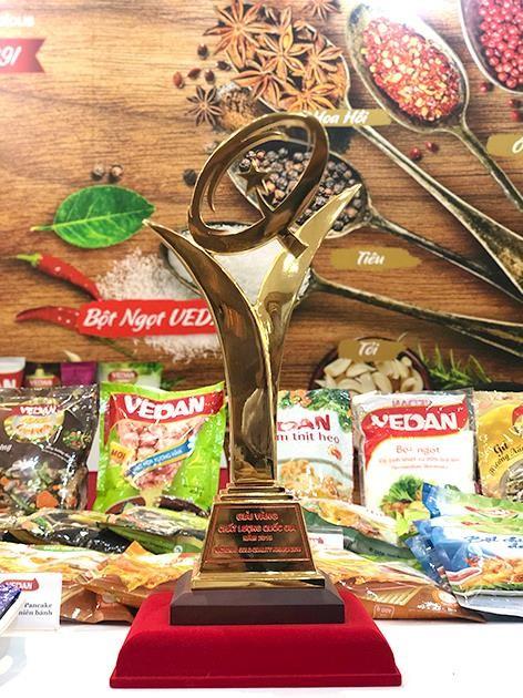 Vedan Việt Nam vinh dự nhận Giải Vàng Chất lượng Quốc gia năm 2018 ảnh 2
