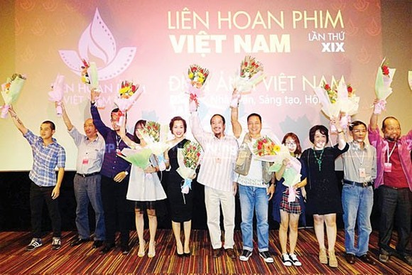 Last year the 19th Vietnam Film Festival was organized in HCM City. (Photo: Sggp)