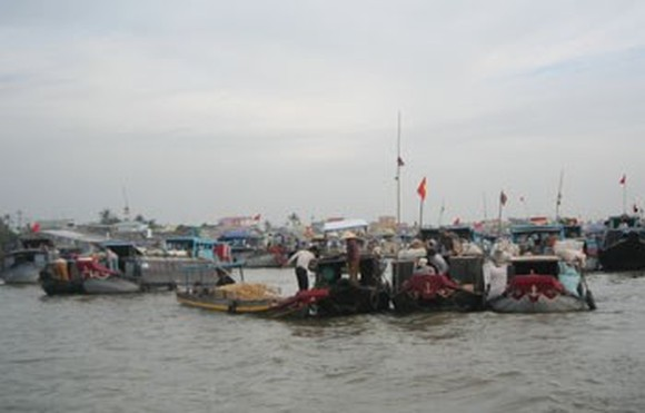 Cai Rang floating market (Photo:KK)