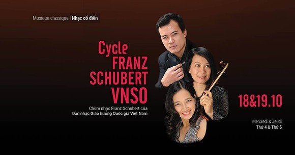 VNSO presents Franz Schubert's classical music pieces in Hanoi