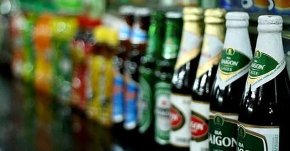 The selling of brewer Sabeco shares should give a short boost to the market.(Photo: cafef.vn)