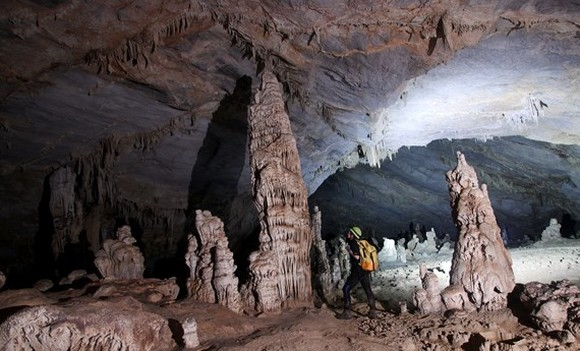 Phong Nha-Ke Bang National Park is home to the largest cave system in the world.