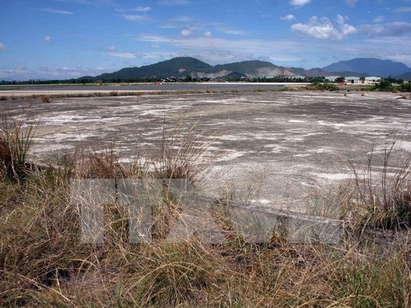 Bien Hoa Airport is considered as one of the dioxin hot spots in the country due to its high level of the chemical. (Source: VNA)