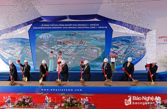Construction begins on WHA Hemaraj Nghe An Industrial Zone project (Source: baonghean)