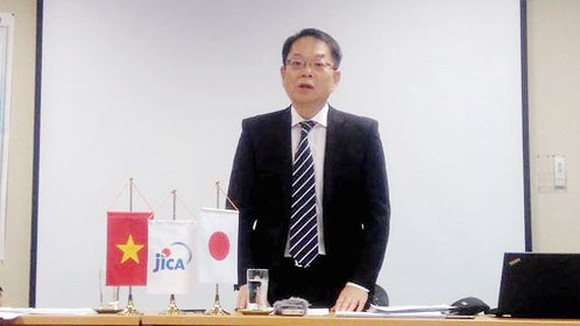 Chief Representative of the Japan International Cooperation Agency (JICA) Vietnam office, Fujita Yasuo
