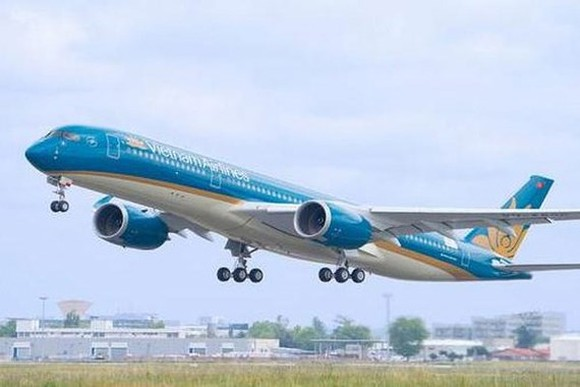 Vietnam Airlines receives its 12th Airbus A350-900 aircraft