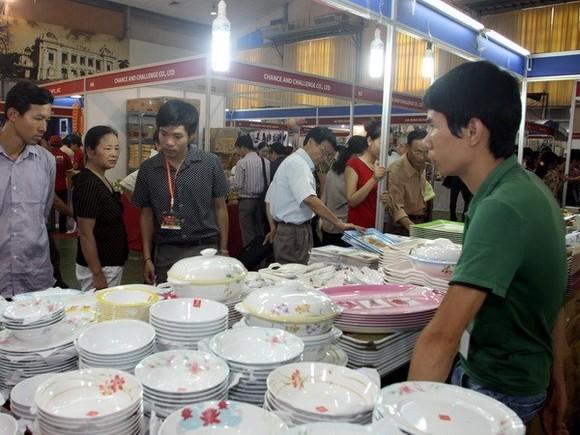 Thai goods on display in Vietnam (Source: VNA)