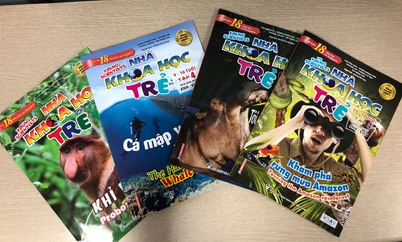 Singaporean bestselling children's science magazine published in Vietnam