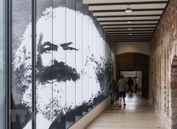 An exhibition featuring the life of Karl Marx (Photo: VNA)