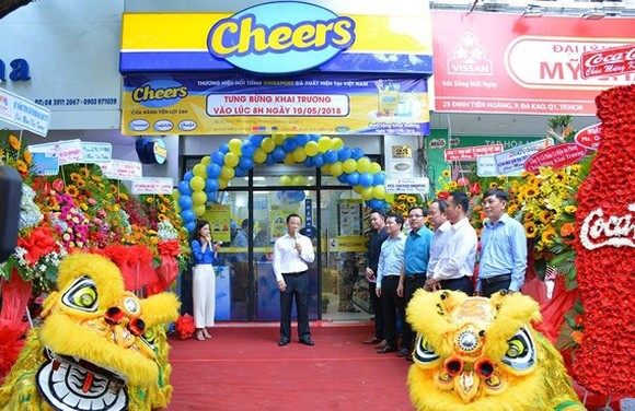 Convenience store Cheers inaugurated in HCMC