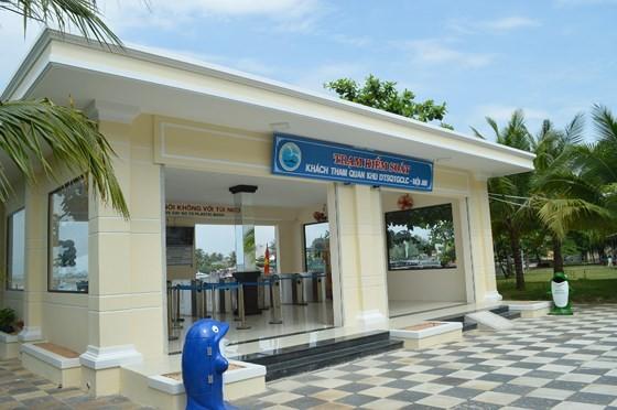 Entrance gate of Cu Lao Cham-Hoi An Biosphere Reserve  (Photo: Sggp)