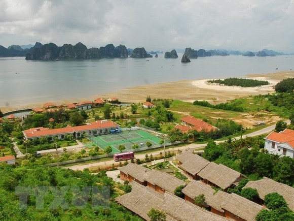 A view of Van Don district of Quang Ninh (Photo: VNA)
