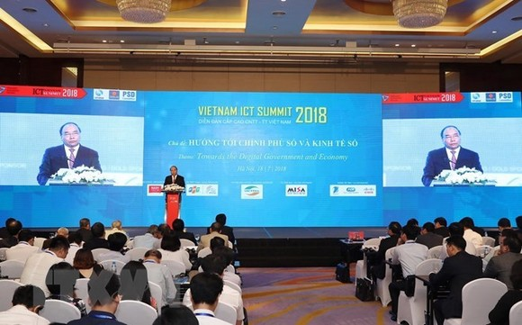 PM Nguyen Xuan Phuc speaks at the summit (Source: VNA)