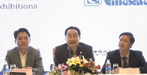 At the press conference of the 2018 International Travel Expo- ITE HCMC  (Photo: Dinh Du)