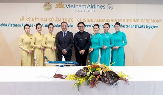 Chef Luke Nguyen is chosen as VNA' food ambassador