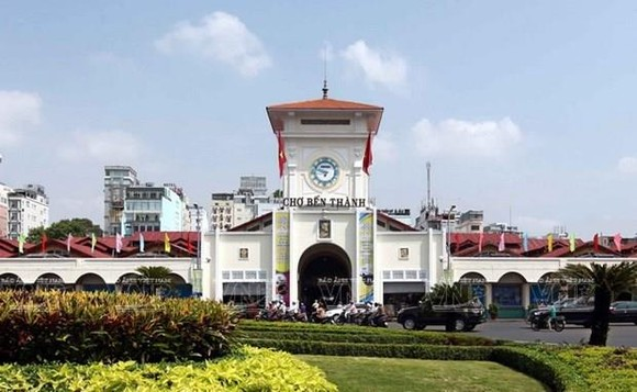 Ben Thanh Market, a popular tourist destination in HCM City (Photo: VNA)