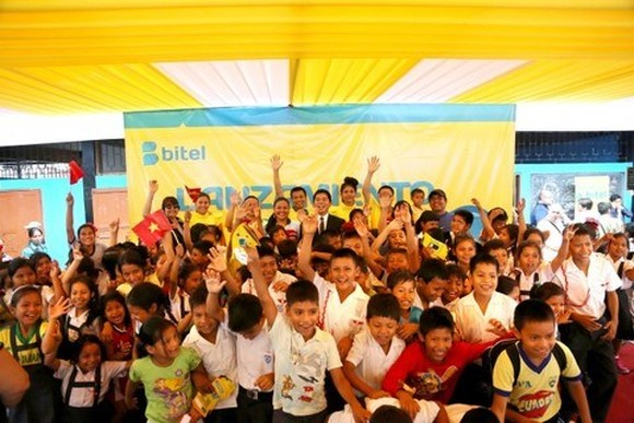 Bitel will help schools improve their services for the education and training sector in Peru. (Photo: VNA)
