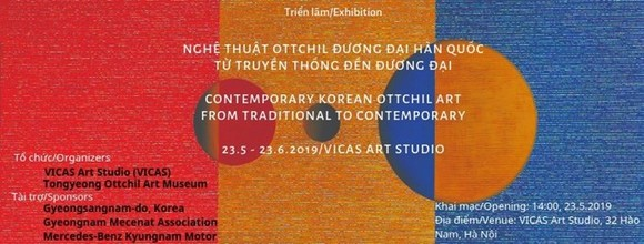 Exhibition of contemporary Korean lacquer artworks held in Hanoi