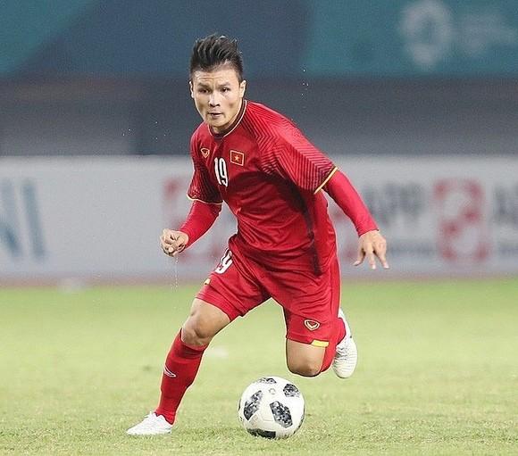 Vietnamese midfielder Nguyen Quang Hai (Source: phapluatxahoi.vn)