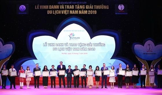Winners of Vietnam Tourism Awards 2019