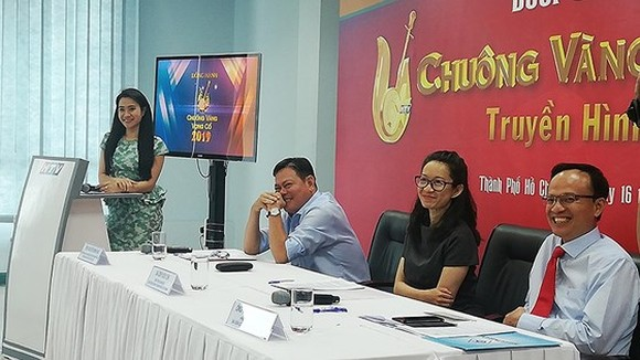 At the press conference of the contest