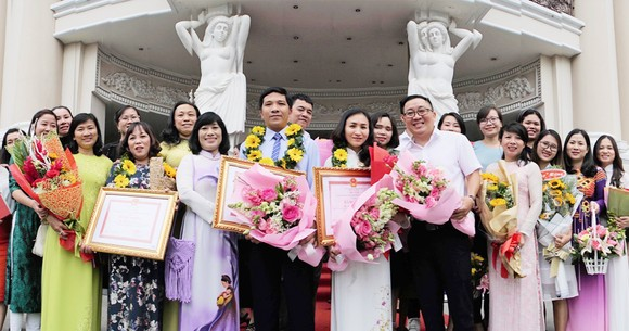 50 nhà giáo tiêu biểu của TPHCM được vinh danh Giải thưởng Võ Trường Toản ảnh 6