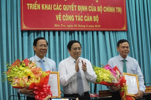Chuẩn y đồng chí Phan Văn Mãi giữ chức Bí thư Tỉnh ủy Bến Tre ảnh 1