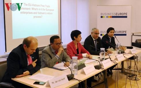 Tăng tốc để Hiệp định thương mại tự do Việt Nam – EU sớm hiệu lực