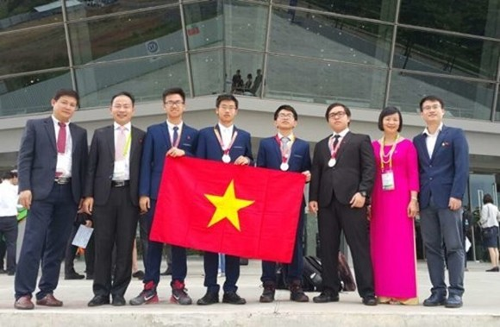 Đội tuyển thi Olympic Hóa học quốc tế 2017