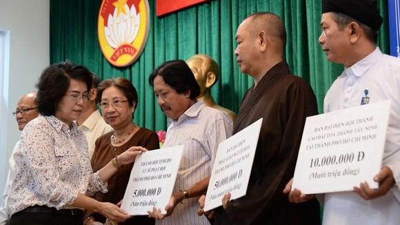 TPHCM phát động đợt quyên góp ủng hộ đồng bào các tỉnh phía Bắc bị ảnh hưởng mưa lũ ảnh 1