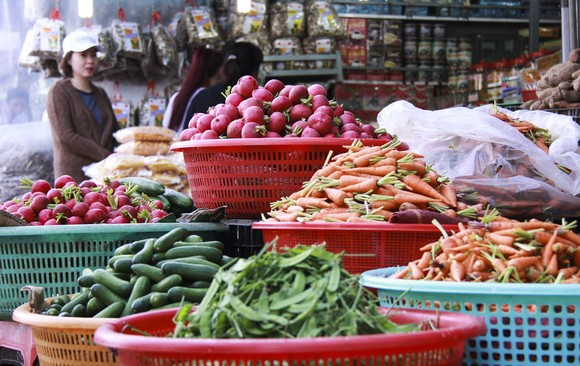 Sắc màu rau quả chợ Đà Lạt ảnh 3